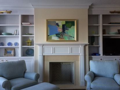 Decorative Fireplace and built-ins